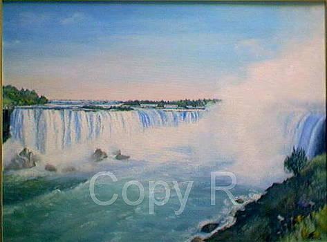 Niagara falls by Marko Lulic
