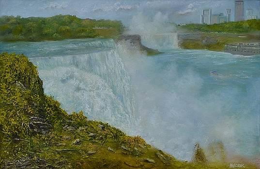 Niagara Falls New York by Michael Mrozik