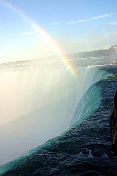 Niagara Falls Rainbow by Reni Boisvert