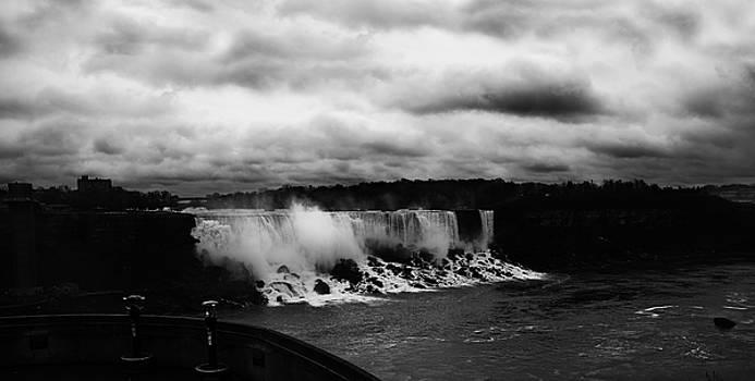 Niagara Falls - Small Falls by JGracey Stinson