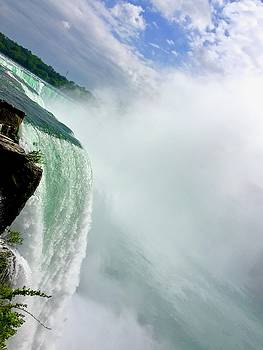 Niagara Falls Up Close Mist by Lexi Heft
