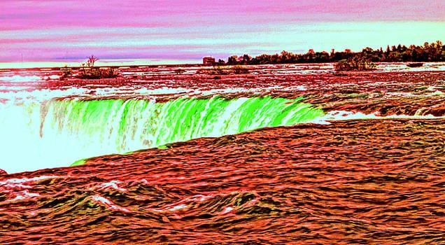 Niagara Falls...The painted Horseshoe by Daniel Thompson