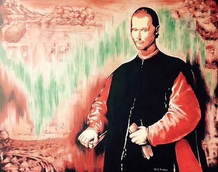 Niccolo' Machiavelli by Victor Minca