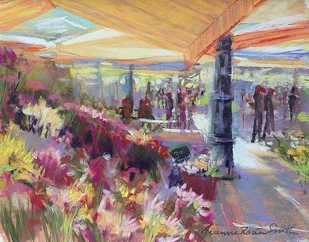 Nice Flower Market by Jeanne Rosier Smith