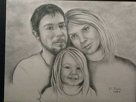 Nichols Family Portrait by Rebecca Poole