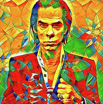 Nick Cave by Oscar George