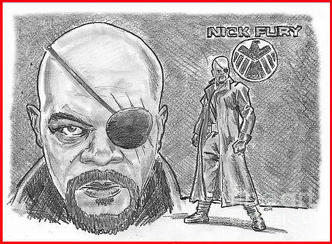 Chris  DelVecchio - Nick Fury- Agent of SHIELD