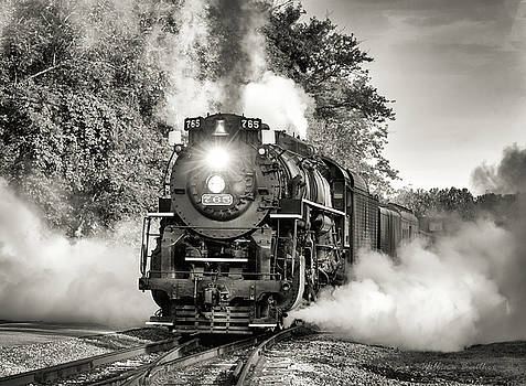 Nickel Plate 765 by William Beuther