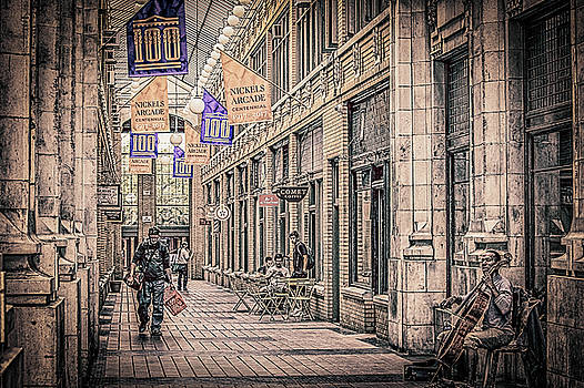 Nickle's Arcade-Downtown Ann Arbor by Maxwell Dziku