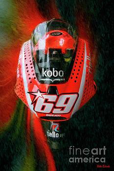 Nicky Hayden's Motogp Ducati by Blake Richards