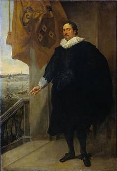 Nicolaes van der Borght, Merchant of Antwerp by Anthony van Dyck
