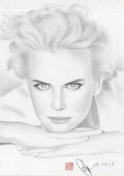 Nicole Kidman by Eliza Lo