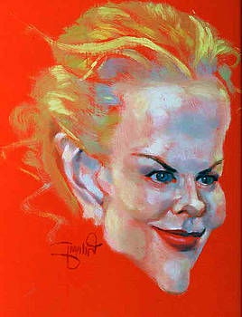 Nicole Kidman by Mehrdad Sedghi