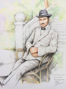 Nicolo Minca. 1908 by Victor Minca