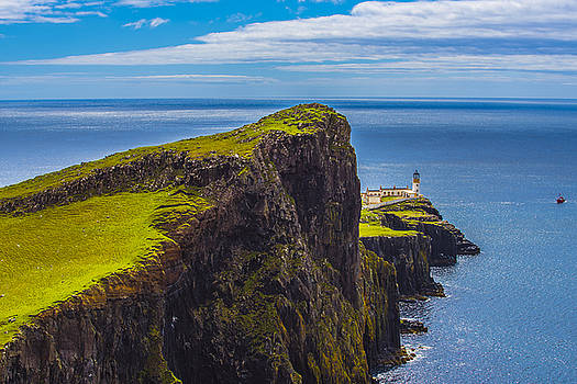 Niest Point Lighthouse I by Steven Ainsworth
