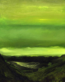 Nigh Shore III by Lillian  Abel