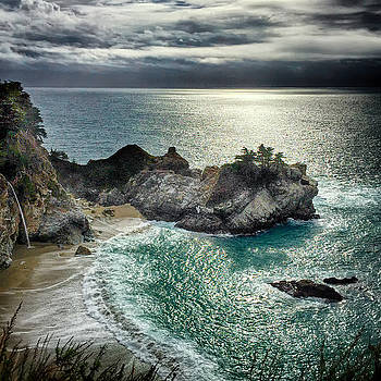 Night at McWay Falls by Lynn Andrews