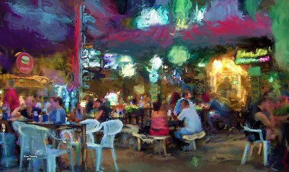 Night At The Cafe by Harry Dusenberg