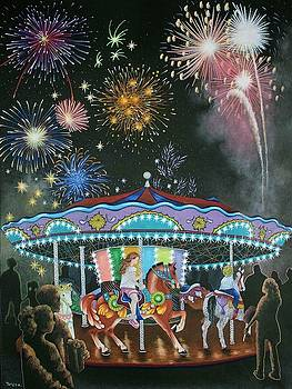 Night at the Fair by Teresa Frazier