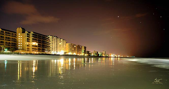 Sam Davis Johnson - Night Beach