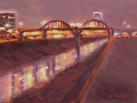 Night Bridge by Michael Besoli