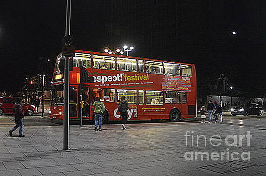 Night Bus by Andy Thompson