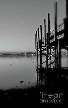 Night by the pier by Evan Sorrell