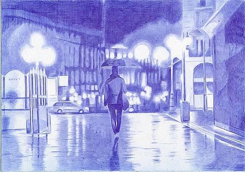 Night City by Oleg Kozelskiy
