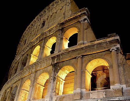 Night, Colosseum by Alex Kossov