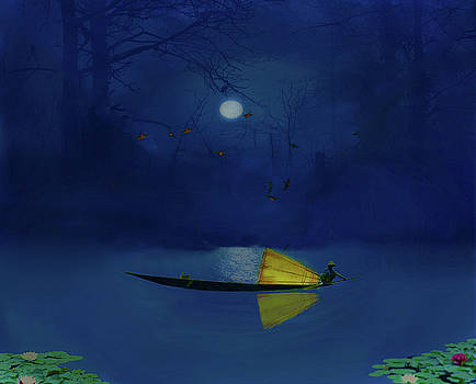 Night Fishing by David Simons