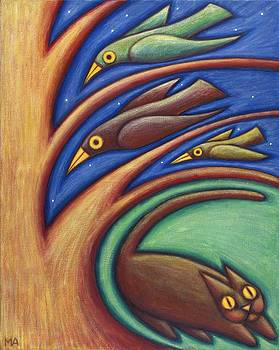 Night Flight by Mary Anne Nagy