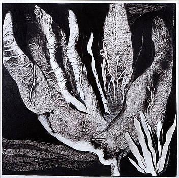 Night Flora II by Sandra Salo Deutchman