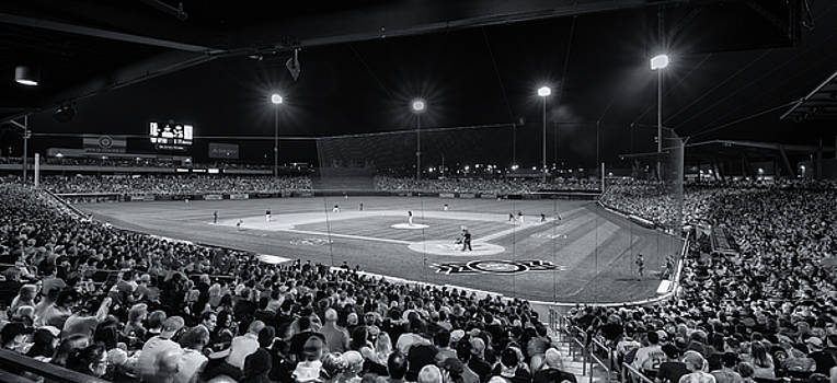 Night Game in Mesa by Greg Thiemeyer