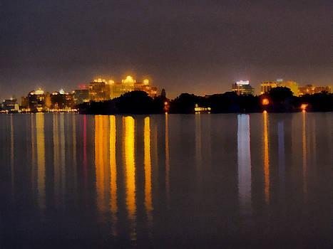 TAWES DEWYNGAERT - Night in the city awakens