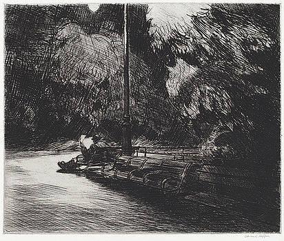 Edward Hopper - Night in the Park