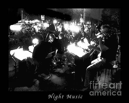 Felipe Adan Lerma - Night Music Poster