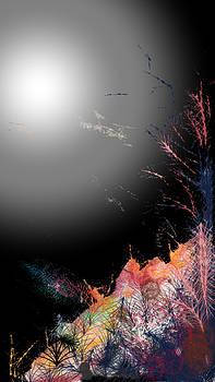 Night on the Hill by Arjun L Sen