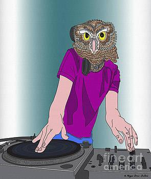 Night-Owl DJ by Megan Dirsa-DuBois