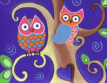 Night Owls in Love by Lynnda Rakos