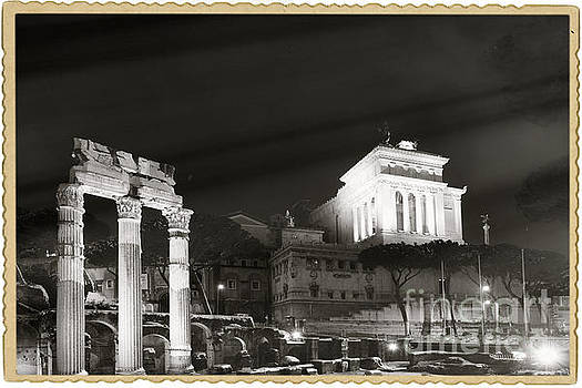 Night Panorama in Rome by Stefano Senise