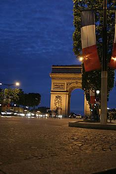 Night Paris by Melissa Frazier