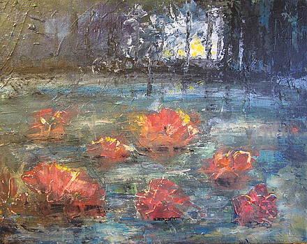 Night Pond by Melanie Stanton