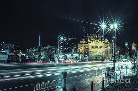 Night Ride by Evelina Kremsdorf