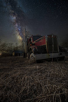 Night Rig by Aaron J Groen