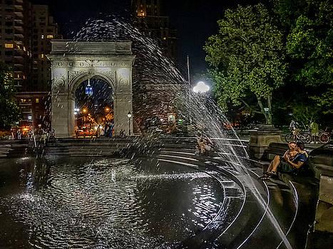 Night Shower by Jeffrey Friedkin