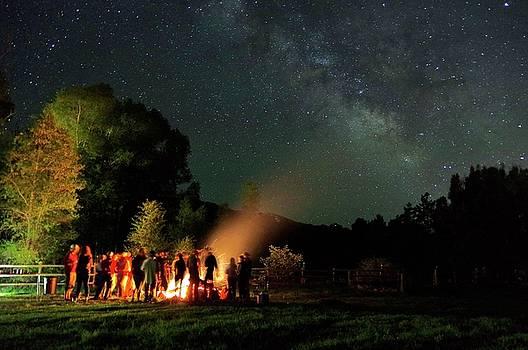 Night Sky Fire by Matt Helm