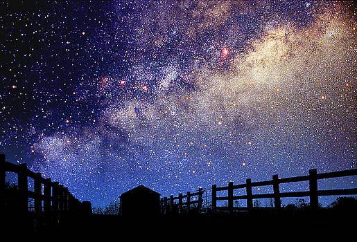 Larry Landolfi and Photo Researchers - Night Sky
