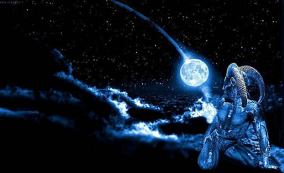Night sky by Rudolf Sechovec