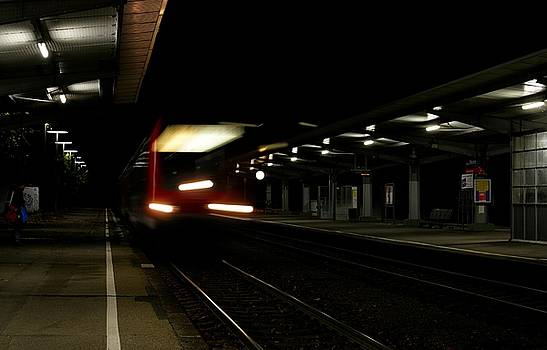 Night Train by Lens Artist