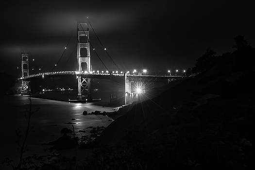 Night View golden gate by Christopher Francis